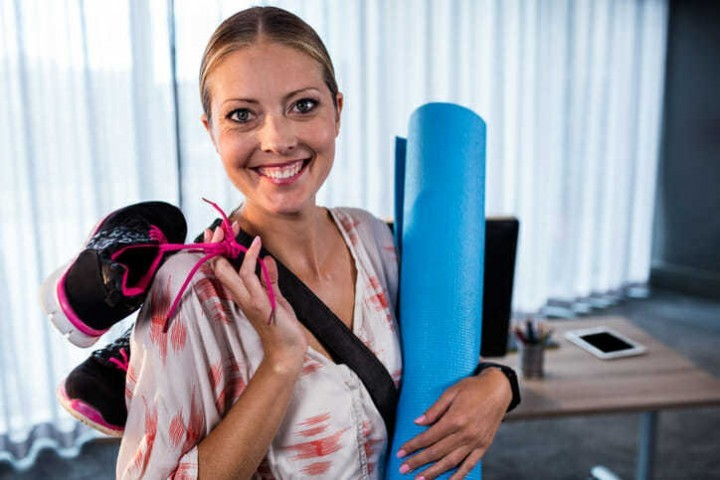 Employee benefits should include time for weekday workouts
